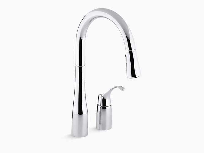 K 647 Simplice Single Handle Kitchen Sink Faucet Kohler