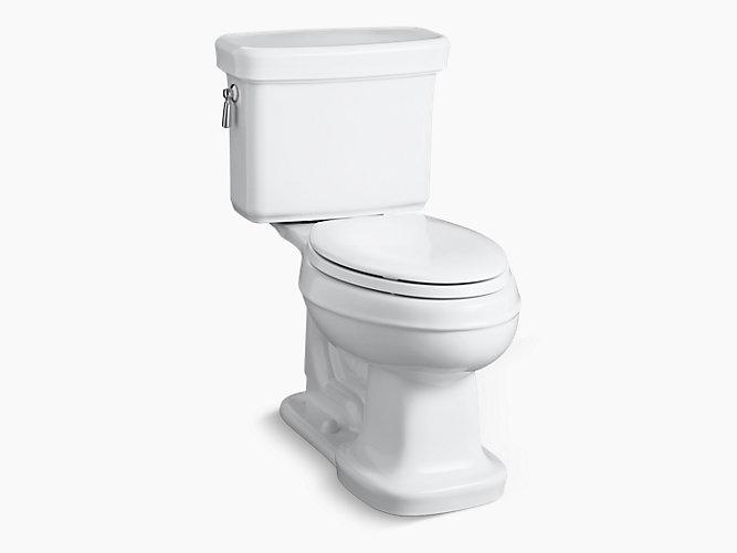 KOHLER|K-3827|Bancroft Comfort Height Elongated 1.28-GPF Toilet ...