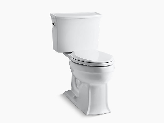 Bemis Toilet Seat Parts. KOHLER  K 3551 Archer Comfort Height Two Piece Elongated 1 28 GPF