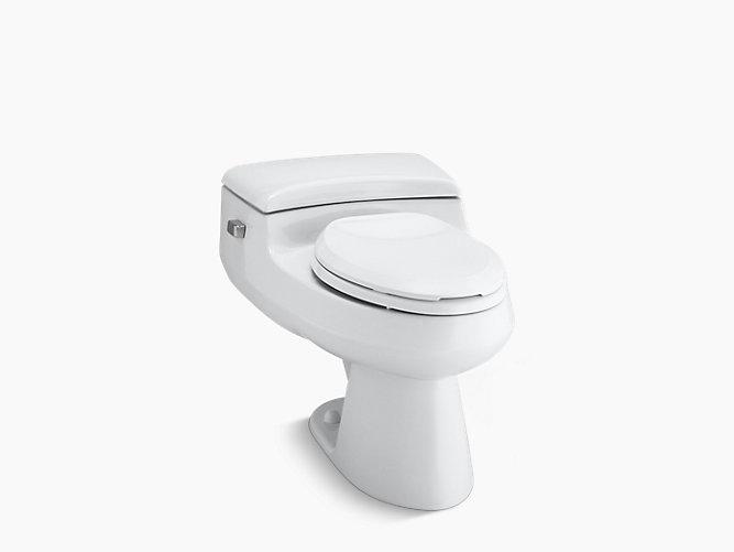KOHLER|K-3597|San Raphael Pressure Lite One-Piece 1.0-GPF Toilet ...