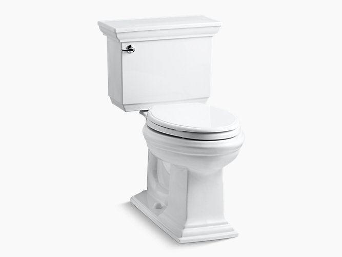 KOHLER|K-3817|Memoirs Stately Comfort Height Elongated 1.28-GPF ...