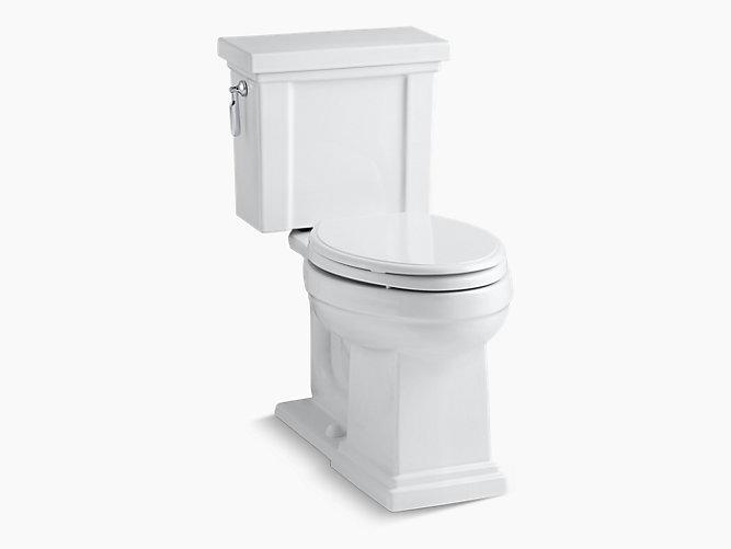 KOHLER K-3950 Tresham Two-Piece Elongated 1.28-GPF Toilet   KOHLER