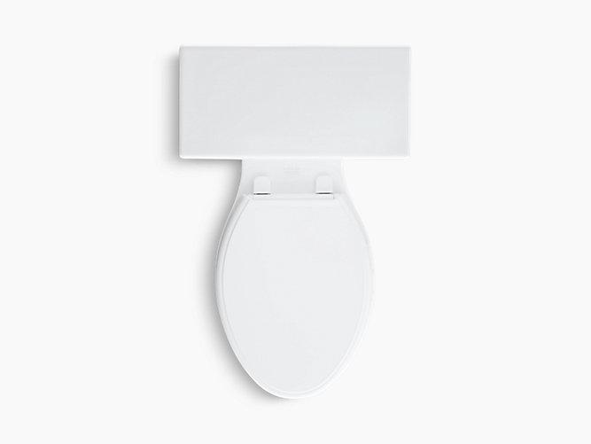 KOHLER|K-3950|Tresham Two-Piece Elongated 1.28-GPF Toilet ...