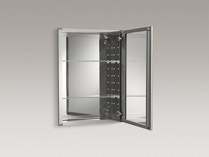 20 Inch Medicine Cabinet With Mirrored Door K Cb Clw2026ss Kohler