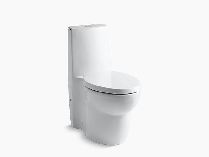 KOHLER|K-3564|Saile One-Piece Compact Elongated Dual-Flush Toilet ...