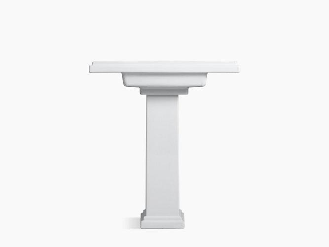 Tresham 30-Inch Pedestal Sink With 8-Inch