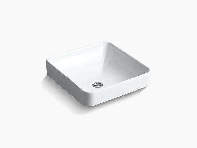 K-2661 | Vox Square Vessel Sink | KOHLER