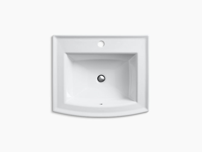 Archer Drop-In Sink with Single Faucet Hole | K-2356-1 | KOHLER