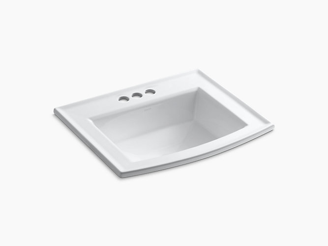 K 2356 4 Archer Drop In Sink With