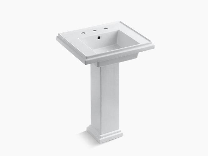 K 2844 8 Tresham 24 Inch Pedestal Sink With Widespread Kohler