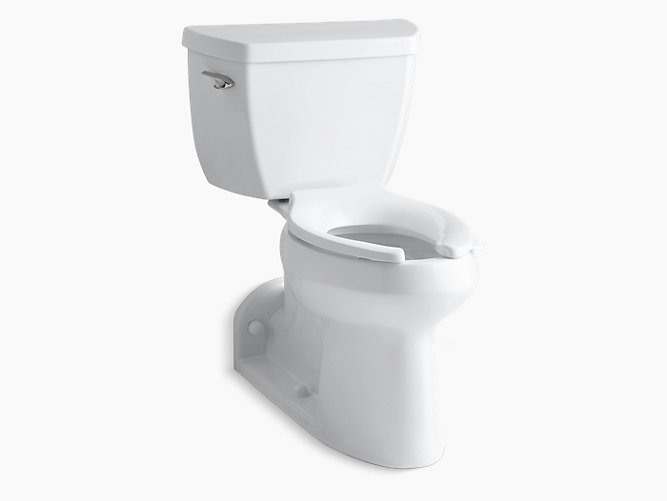Barrington Comfort Height two-piece elongated 1.0 gpf toilet with ...