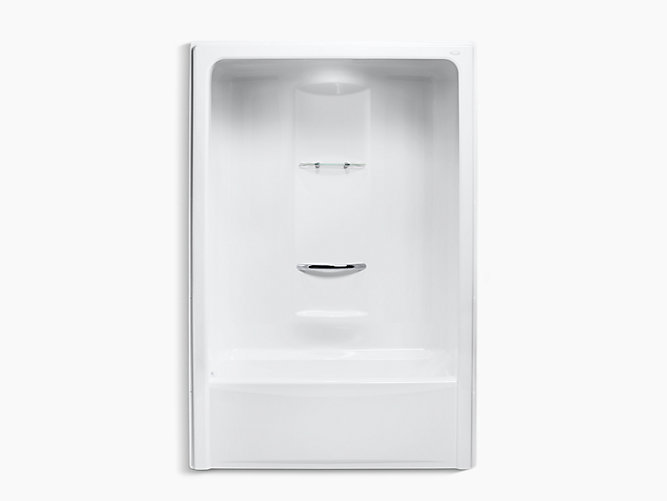 K 1681 Sonata 5 Foot Bath And Shower Stall Left Drain