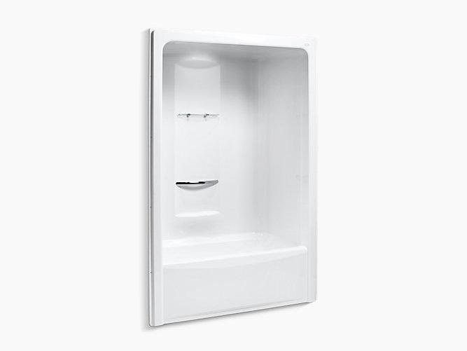 Sonata 5-Foot Bath and Shower Stall, Left Drain | K-1681 | KOHLER