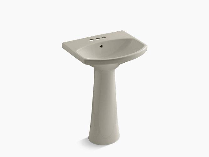K 2362 4 Cimarron Pedestal Sink With 4 Inch Centers Kohler