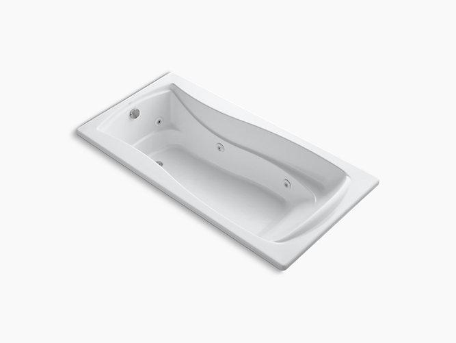 K 1257 Mariposa 72 X 36 Drop In Whirlpool Bath With Reversible Drain Kohler