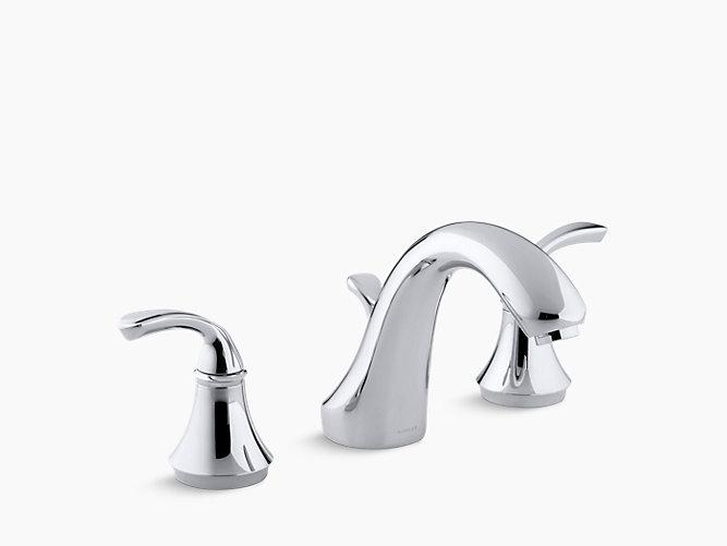 Forté Deck-Mount High-Flow Bath Faucet Trim | K-T10292-4 | KOHLER