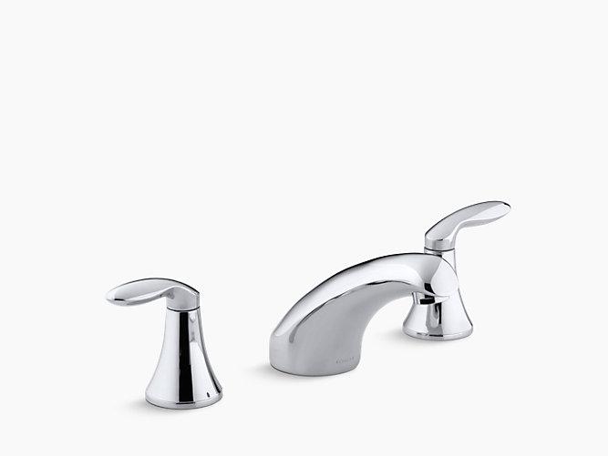Coralais BathMount HighFlow Bath Faucet Trim KT KOHLER - Kohler coralais bathroom faucet