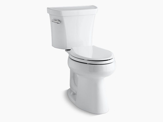 Kohler K 3889 Highline Comfort Height Elongated 1 28 Gpf Toilet Kohler