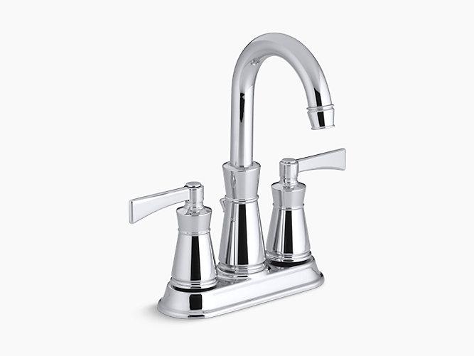 Archer Centerset Sink Faucet with 4-Inch Centers | K-11075-4 | KOHLER