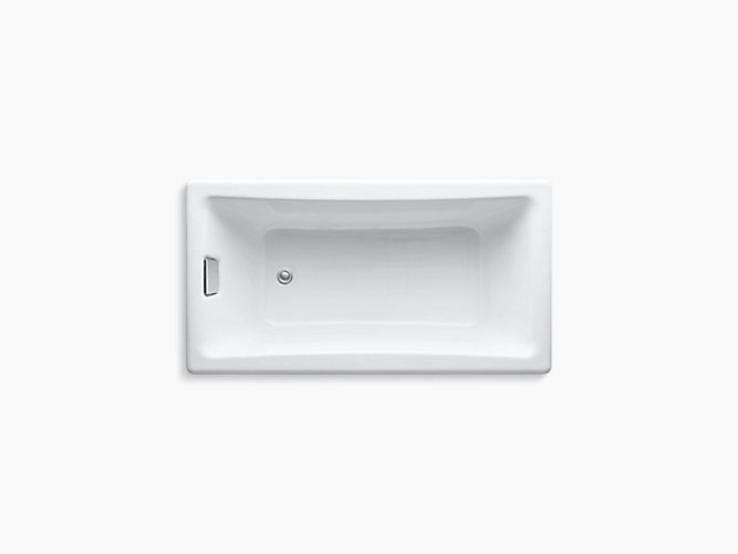 K 850 Tea For Two 60 X 32 Drop In Bath With Reversible Drain Kohler