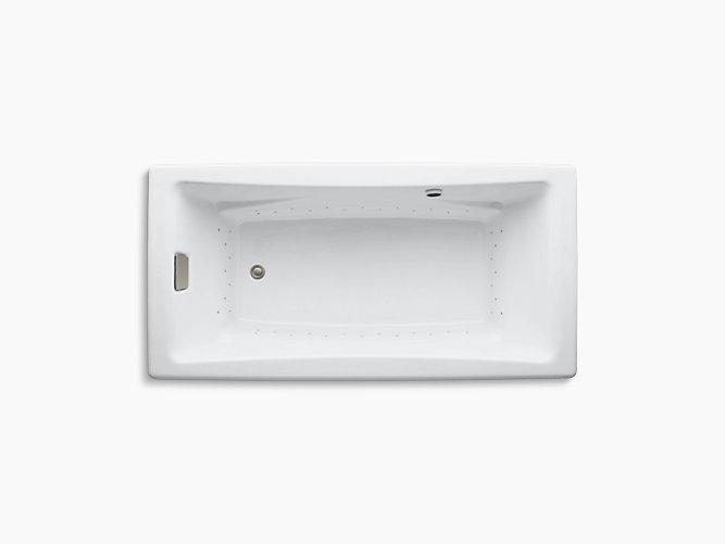 K 865 Ghbn Tea For Two 72 Heated Bubblemassage Air Bath Kohler