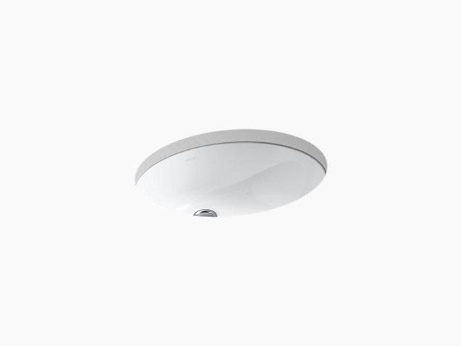 Kohler Caxton Undermount Bathroom Sink In White » Searching for Kohler K  2210 Caxton Vitreous China