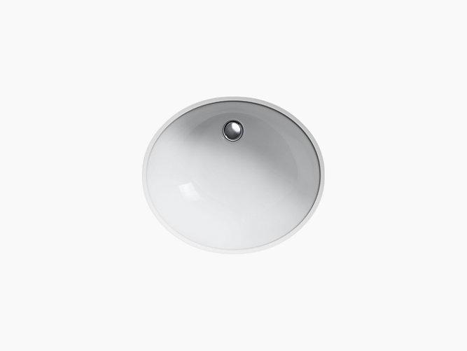 K 2210 G Caxton Undermount Sink With Glazed Underside