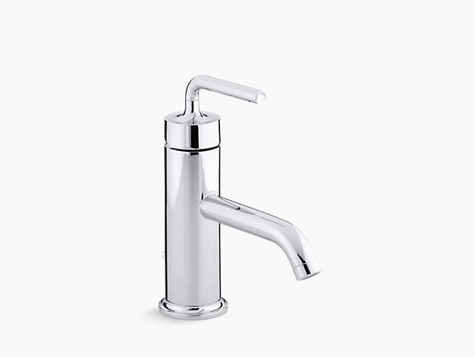 KA Purist SingleControl Sink Faucet With Lever Handle - Kohler bathroom faucet handles