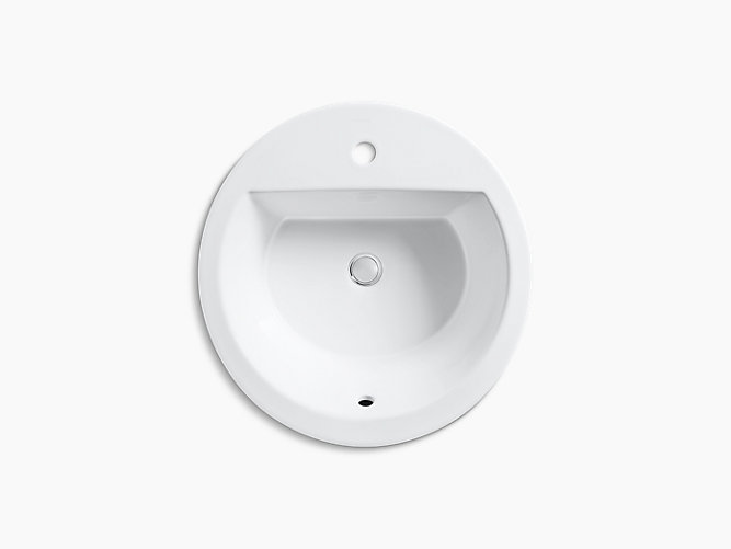 K 2714 1 Bryant Round Drop In Sink With Single Hole And