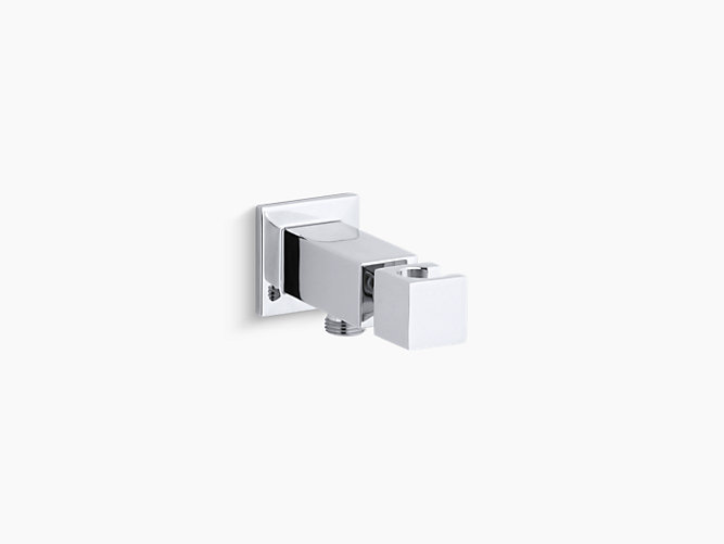Loure Wall-Mount Handshower Holder with Supply Elbow   K-14791 ...