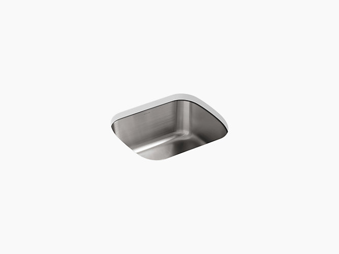 K-3184 | Undertone Square Under-Mount Kitchen Sink | KOHLER on