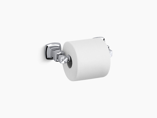 Margaux Horizontal Toilet Tissue Holder K KOHLER - Kohler bathroom accessories chrome