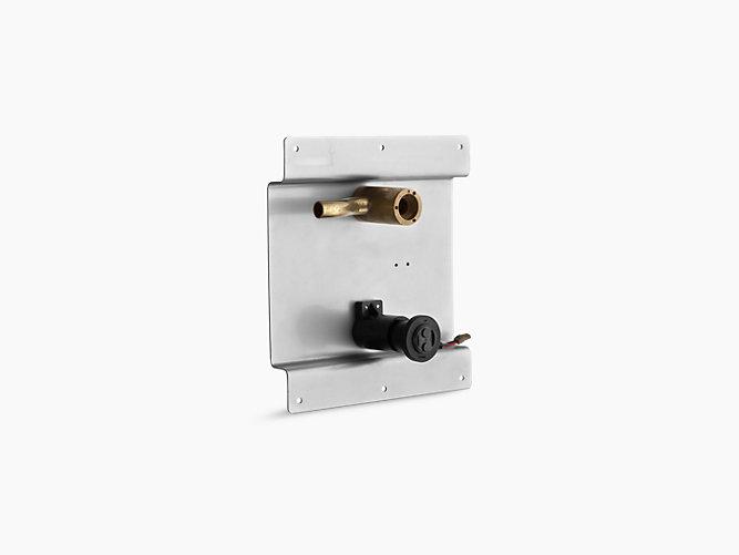 Touchless round hybrid valve and sensor kit | K-11830 | KOHLER