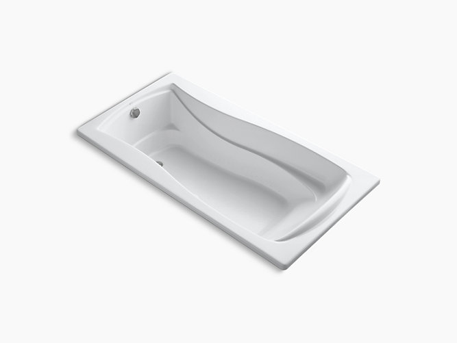 Mariposa 6-Foot BubbleMassage Air Bath | K-1257-G | KOHLER