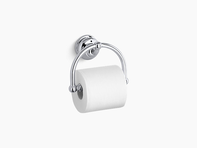 Fairfax Toilet Tissue Holder K KOHLER - Kohler bathroom accessories chrome