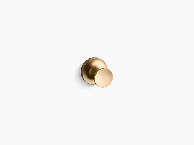 Kohler Purist Robe Hook - Brushed Gold