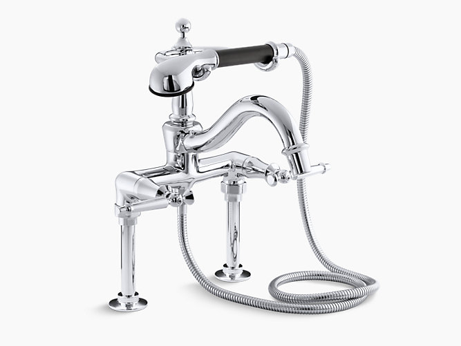 K-110-4 | Antique Bath Faucet with Handshower | KOHLER