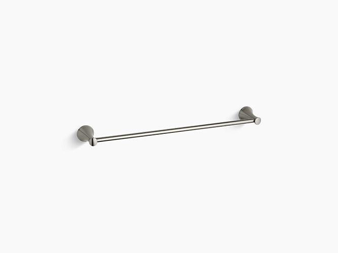"""Kohler Coralais 24"""" Towel Bar - Brushed Nickel"""