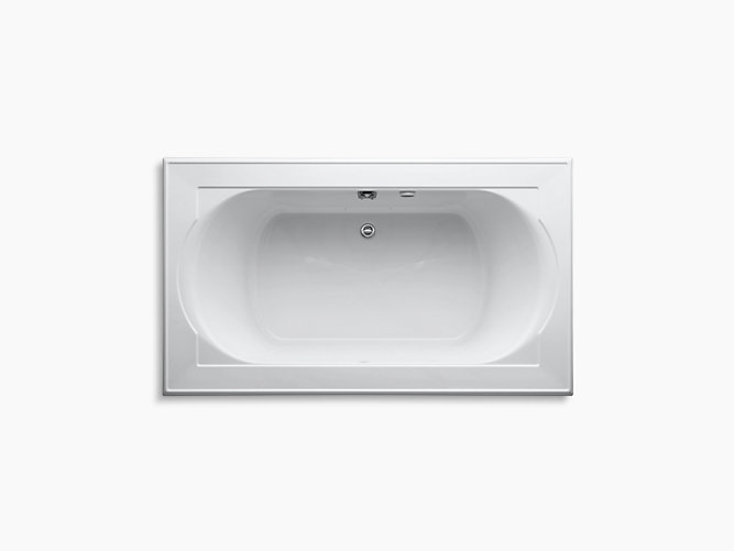 Memoirs 6-Foot BubbleMassage Air Bath | K-1418-G | KOHLER