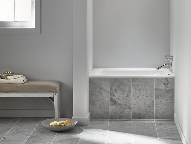 Greek 4-Foot Drop-In Bath | K-1490-X | KOHLER