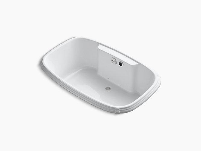 Portrait 5.5-Foot Drop-In BubbleMassage Air Bath | K-1457-G | KOHLER