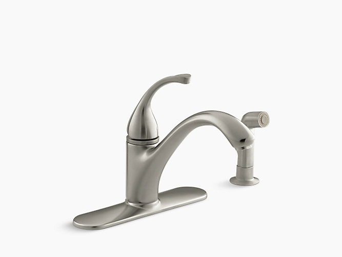 K 10412 Forté Single Handle Kitchen Sink Faucet With Sidespray Kohler Canada