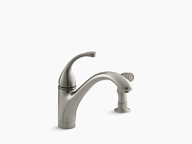K 10416 Forte Single Handle Kitchen Sink Faucet Kohler
