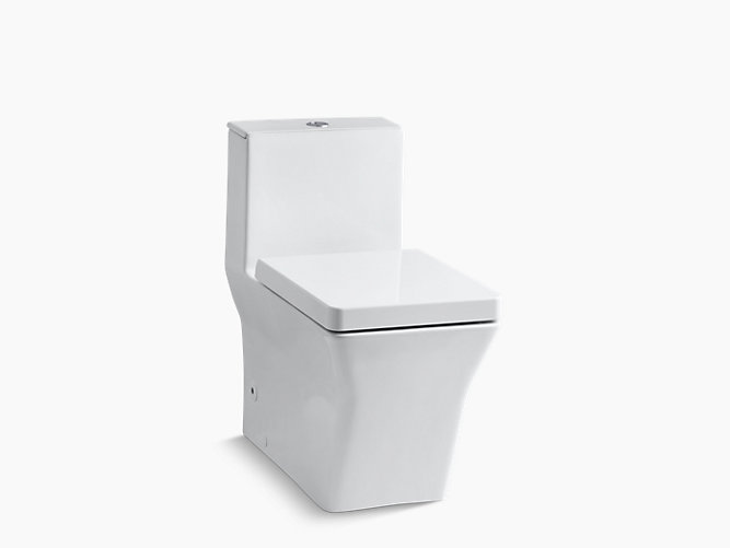 KOHLER|K-3797|Rêve One-Piece Compact Elongated Dual-Flush Toilet w ...
