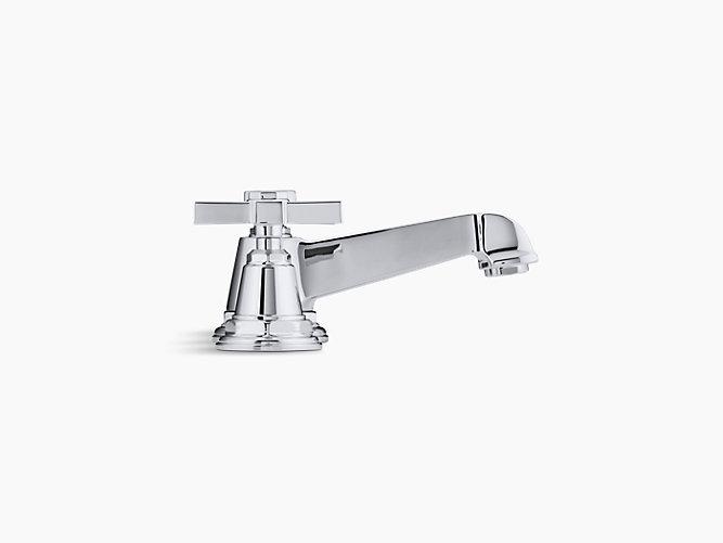 Pinstripe Widespread Sink Faucet with Cross Handles | K-13132-3B ...