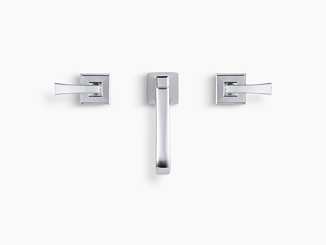 Widespread 2-Handle Bathroom Faucet in Polished Chrome