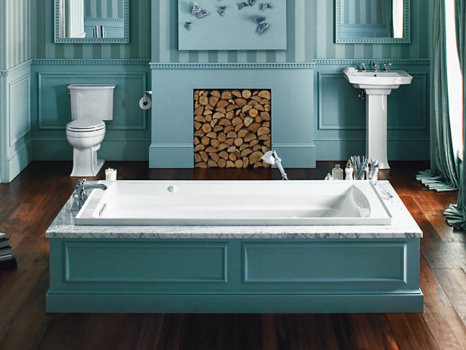 Archer 6-Foot Whirlpool with Comfort Depth Design | K-1124 | KOHLER
