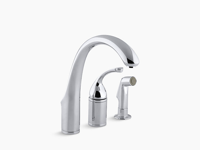 K 10430 Forte Single Handle Remote Valve Kitchen Sink Faucet Kohler