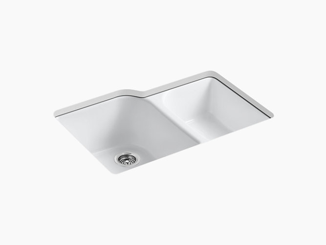 Executive Chef Undermount Kitchen Sink W Four Holes K 5931 4u Kohler Kohler