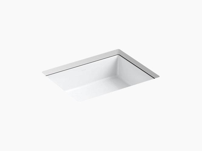 K 2882 verticyl undermount rectangular sink kohler - Kohler undermount bathroom sinks ...